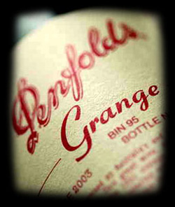 Penfolds Grange Collection Information