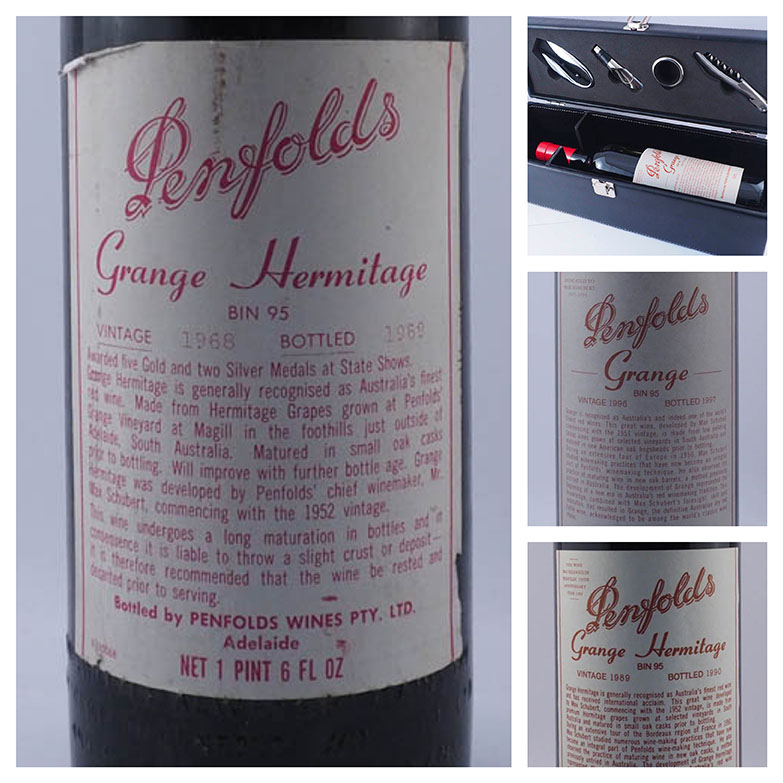 Sell a penfolds grange hermitage collection online for the best price