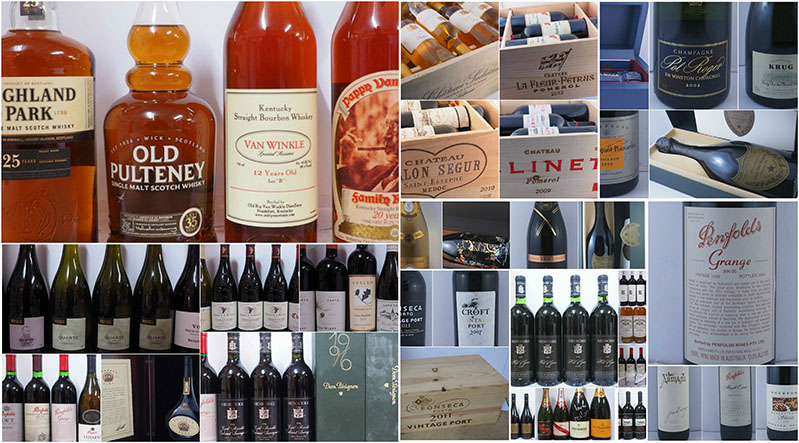 sell your wine, whisky or rum collection at online auction for the best price