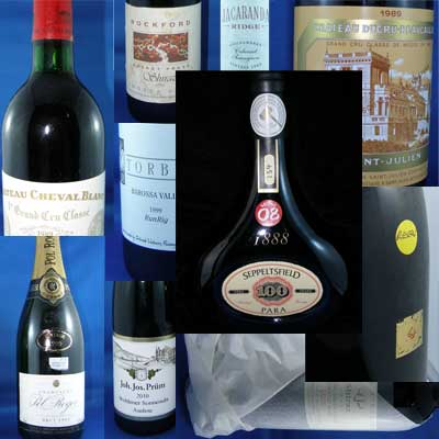 selling wines at online auctions